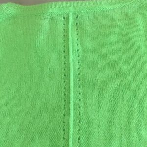 Neiman Marcus Sweaters - 100% Cashmere Green 360 Sweater